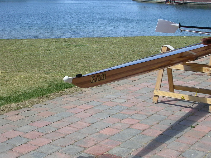 how to carry a rowing scull