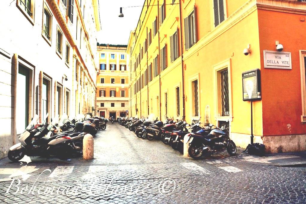 Vespapark Rome Italy