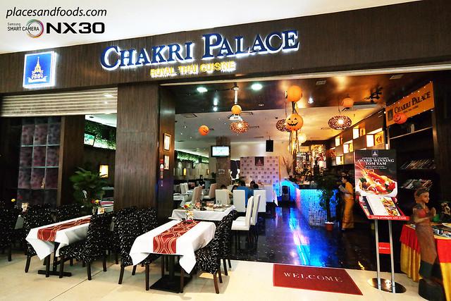chakri palace pavilion
