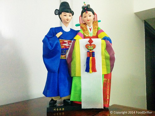 Traditional Korean Marriage Dolls