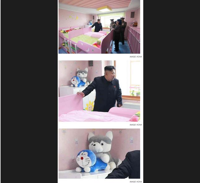 North Korean Dictator Kim Jong-un Got Photobombed By Two Stuffed Animals Having Butt Sex