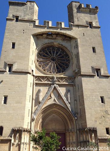 Beziers Kathedrale Portal
