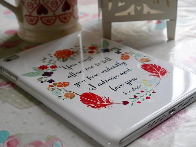 CaseApp iPad Mini case pride and prejudice quote etsy print