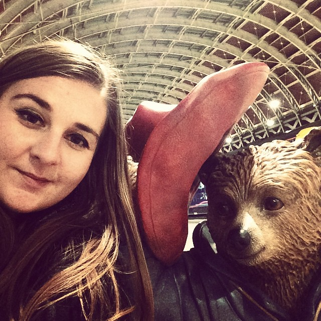 Slightly inebriated Paddington selfie from last night. Had to be done!