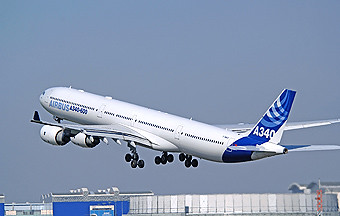 Airbus A340-600 take off (Airbus)
