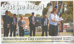 Remembrance Day 2014 Gawler Bunyip 12Nov2014 (1)