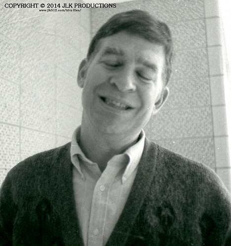 Tri-X Files 84_30.11a: Mr. Stephens Caught Smiling