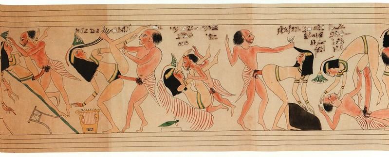 Сексуальные фрески египта