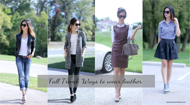 Ways to wear leather