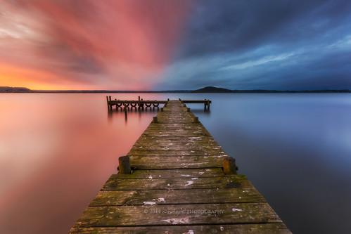sunset newzealand lake landscape photography rotorua jetty aotearoa kuiraupark everlook ngongotaha whitecliffsnorthisland
