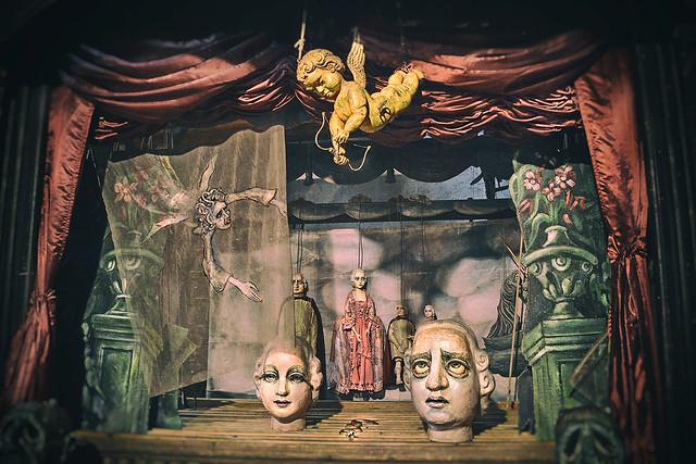 DIVCI KAMEN - puppets theater