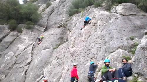 Curso de escalada deportiva Aula Vertical 3