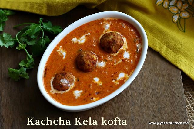 Kachha-kela-ki kofta
