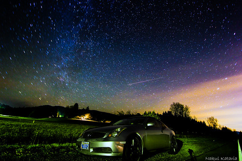 The Meteor Shower Gazing