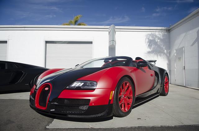 Bugatti Veyron Grand Sport Black