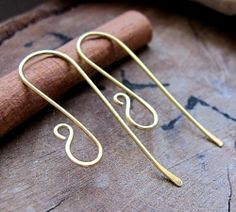 Ear wires are wonderful jewelry findings for earrings making! Make a pair of art...
