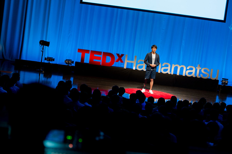 Photo: Session of TEDxHamamatsu 2016