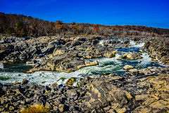 Great Falls of the Potomac River at C&O Canal National Park - Great Falls MD