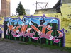 False graffiti, Trellick Tower