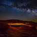 Mesa Arch Under The Milky Way by Jerry T Patterson
