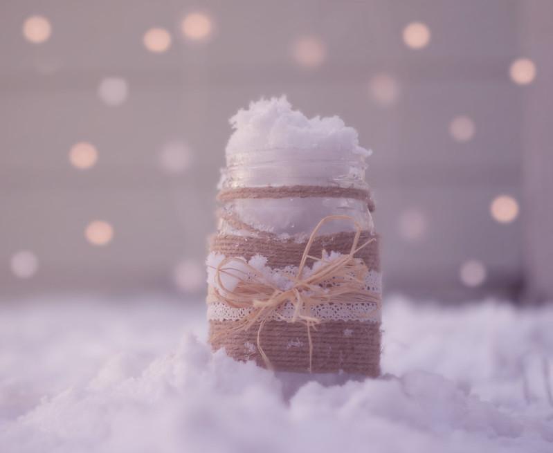 Snowflakes in a Jar