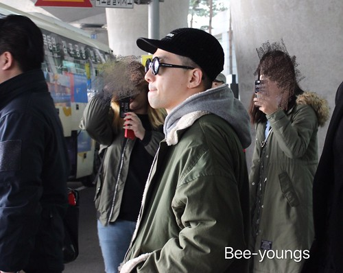 YB Dae TOP arrival Seoul from Nagoya 2016-12-05 (25)
