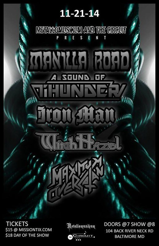 Manilla Road at The Circuit