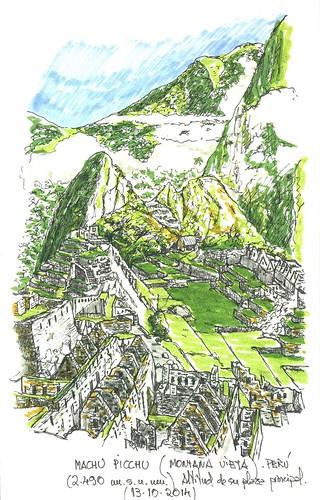Machu Picchu (Perú) (2.490 m.s.n.m.)