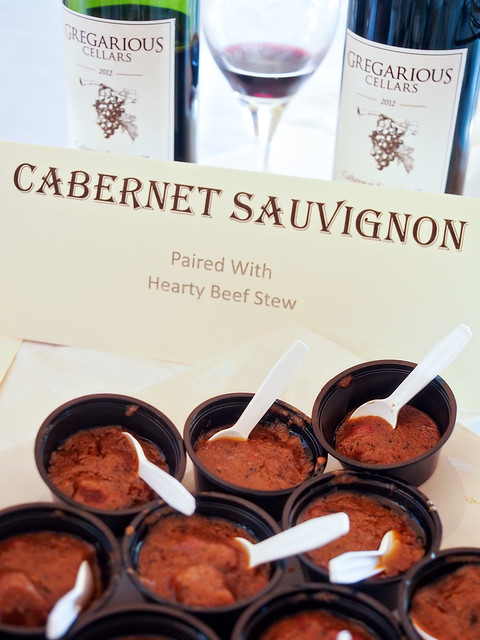 Cab Sauvignon with Hearty Beef Stew