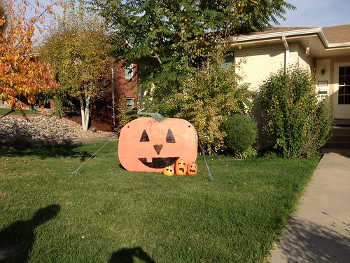 Yard Pumpkins