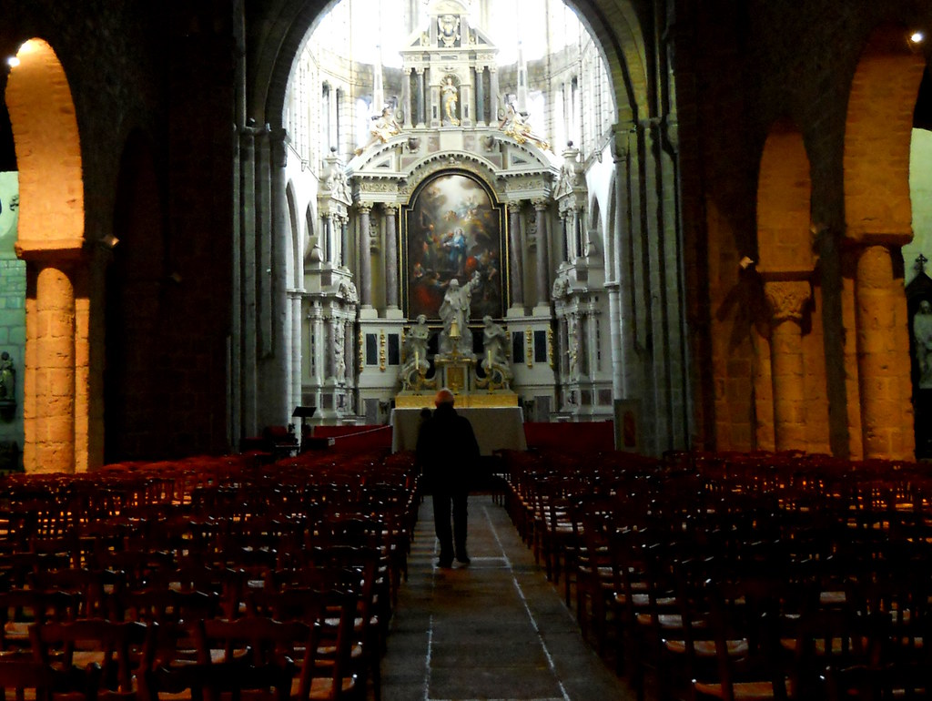 Abbatiale Saint-Sauveur de Redon, nef du XIe siècle