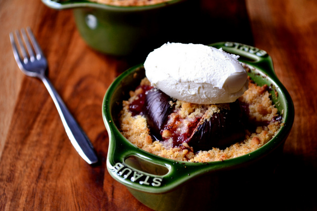Recipe for Fig Crumble