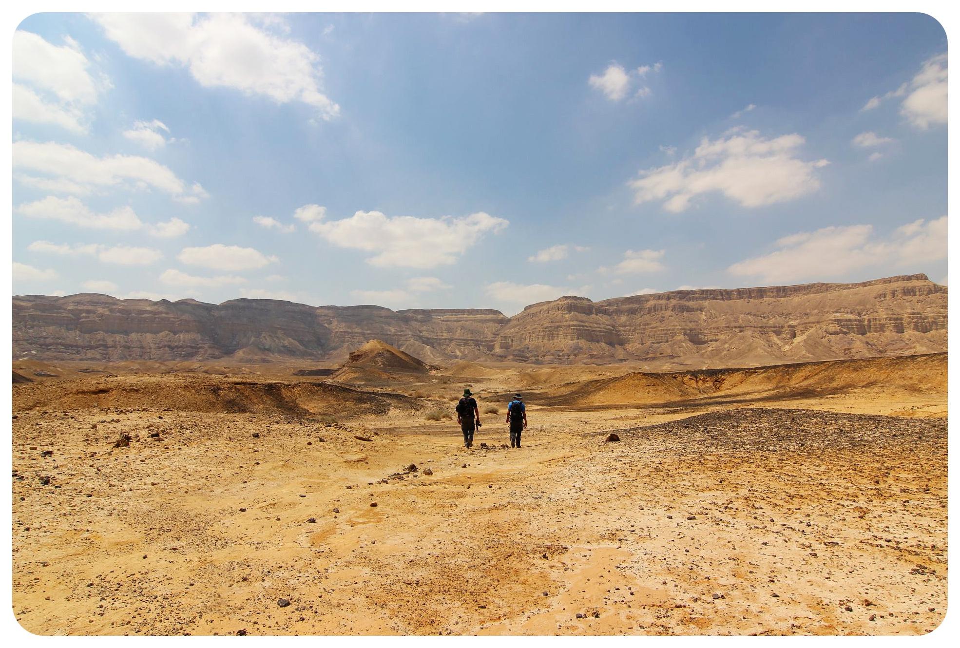 negev desert hike