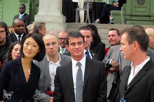 Fiac 14 - Fleur Pellerin & Manuel Valls