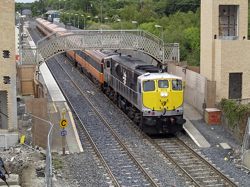 railroad railway irishrail mk3 emd hazelhatch iarnrodeireann krp jt22cw ie071class brelmk3 kildarerouteproject ie073