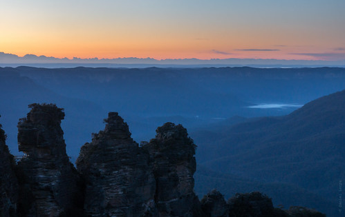 Three Sisters @dawn