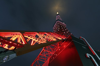 Tokyo Tower RED [explored 009]