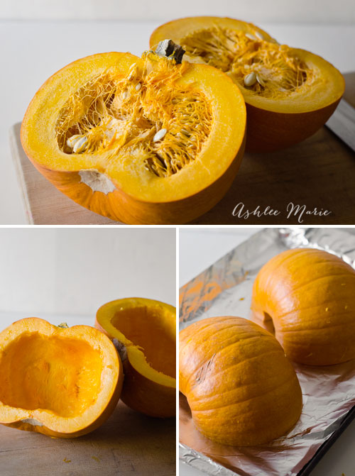 you start by cooking the pumpkin