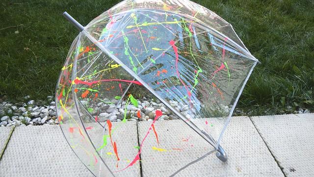 Neon Umbrella 18