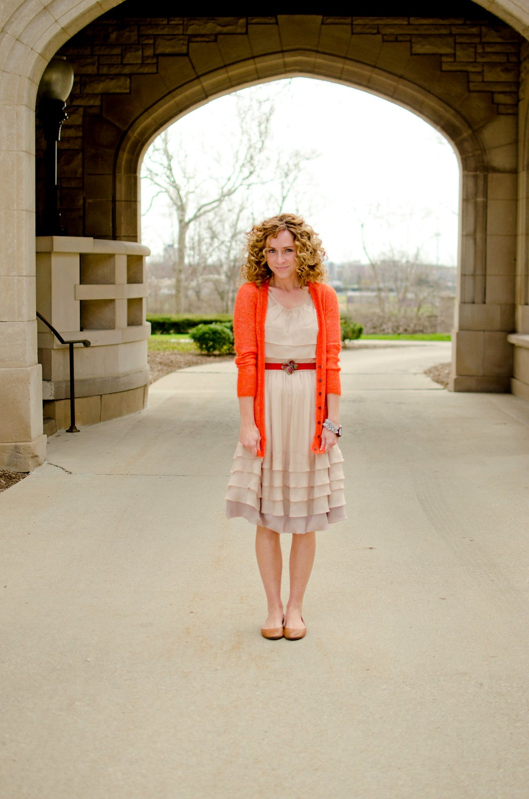 how to style anthropologie drifting by dress via Kristina J blog