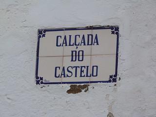 Placa de calle (Serpa, Alentejo)