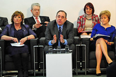 Meeting of the Scottish Cabinet in Portlethen, February 2014