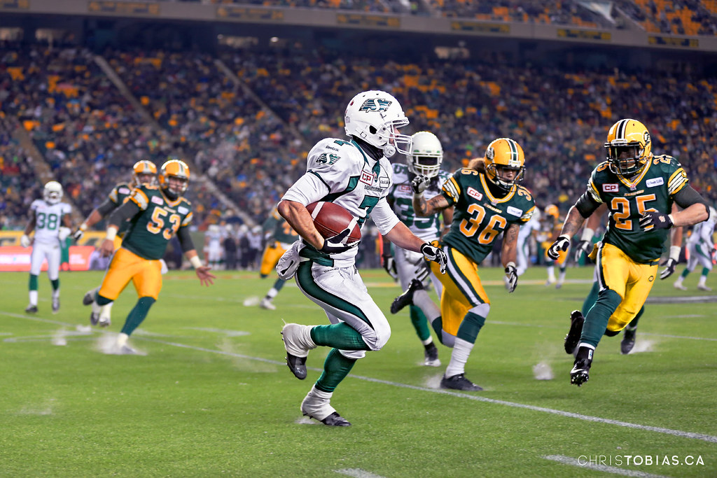Edmonton vs Saskatchewan CFL Western Semi-Final