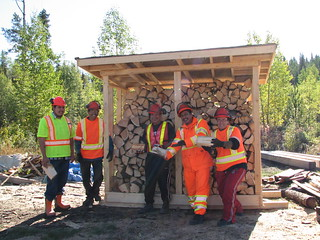 Lake Babine Nation  partnership benefits band, workers