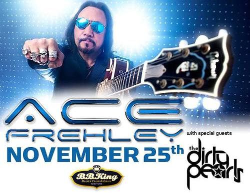 11/25/14 Ace Frehley/ Dirty Pearls @ BB King's, NYC, NY