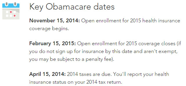 turbotax open enrollment dates