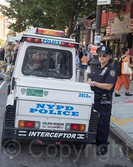 P079s NYPD Police Traffic Enforcement Vehicle, Atlantic Antic Street Festival 2014, Brooklyn, New York City