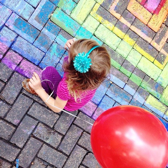 #Chalkitup is always one of our favorite events of the year. Thank you @artpace and thanks @sama_art for the public mural space! #satxbloggers