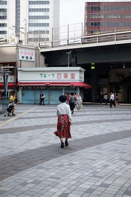 On the street.Yurakucho,Tokyo.