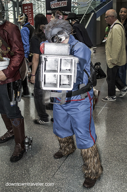 NY Comic Con 2014 Rocket Raccoon Guardians of the Galaxy